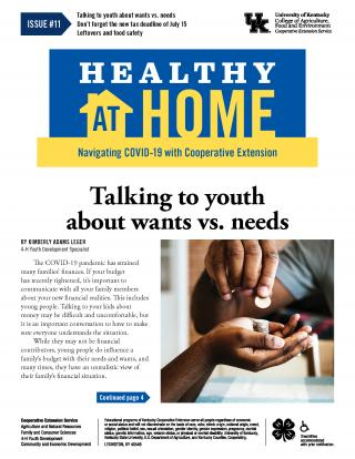 Front cover of Healthy at Home Issue 11 - click for full PDF
