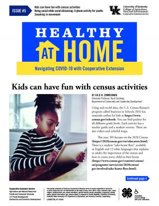 Health at home newsletter issue 5 page 1 thumbnail